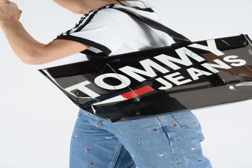 Handtassen Tommy Hilfiger TJU SUMMER TOTE TRAN Oranje onder