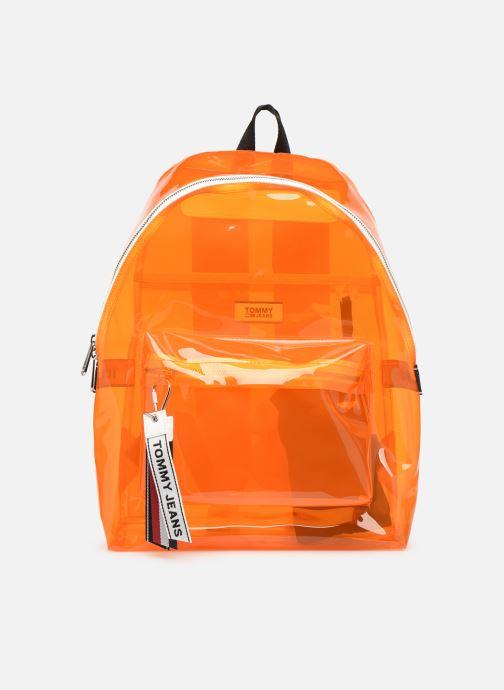 Rucksäcke Tommy Hilfiger TJU LOGO TAPE BACKPACK TRAN orange detaillierte ansicht/modell