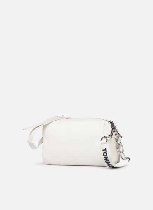 Handtaschen Tommy Hilfiger TJW FEMME CROSSOVER weiß schuhe getragen