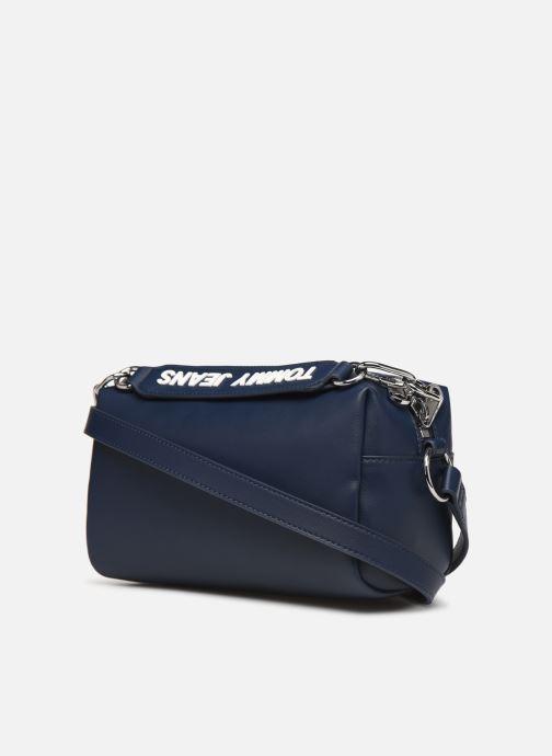 Handtaschen Tommy Hilfiger TJW FEMME CROSSOVER blau ansicht von rechts