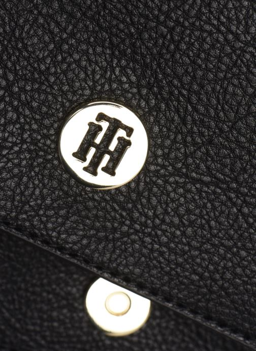 Sacs à main Tommy Hilfiger HONEY FINEGRAIN CROSSOVER Noir vue gauche