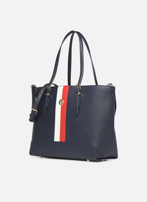 Handtassen Tommy Hilfiger HONEY MED TOTE CORP Blauw model
