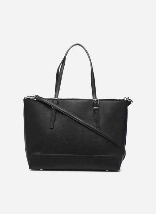 Sacs à main Tommy Hilfiger HONEY MED TOTE CORP Noir vue face