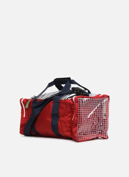 Sporttaschen Tommy Hilfiger TJU HERITAGE DUFFLE HERIT mehrfarbig ansicht von rechts
