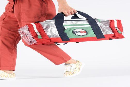 Bolsas de deporte Tommy Hilfiger TJU HERITAGE DUFFLE HERIT Multicolor vista de abajo