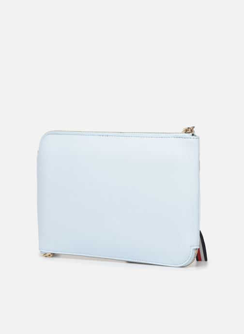 Clutch Tommy Hilfiger ICONIC TOMMY POUCH Blauw rechts