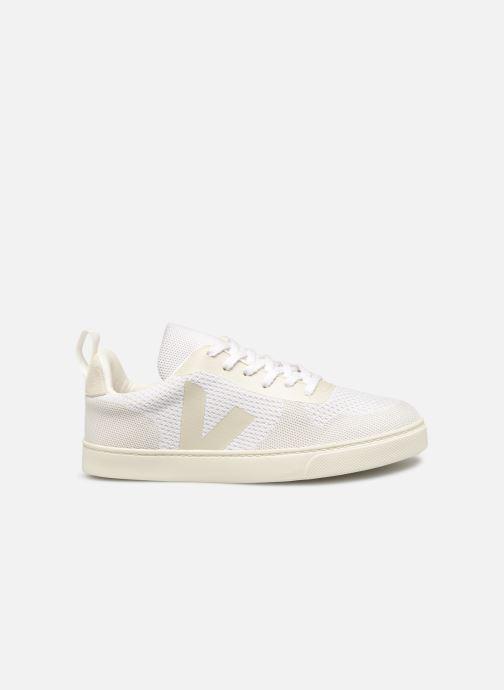 Sneaker Veja V-10 Malha weiß ansicht von hinten