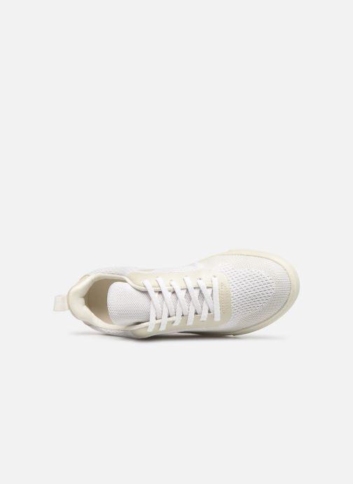 Sneaker Veja V-10 Malha weiß ansicht von links