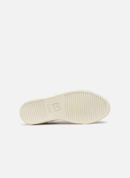 Sneaker Veja V-10 Malha weiß ansicht von oben
