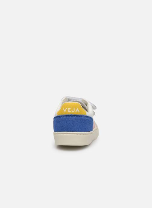 Sneaker Veja V-12 SMALL LEATHER mehrfarbig ansicht von rechts