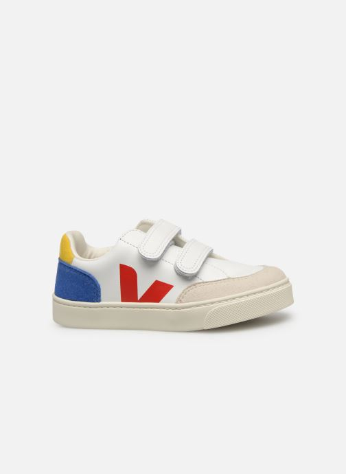 Trainers Veja V-12 SMALL LEATHER Multicolor back view