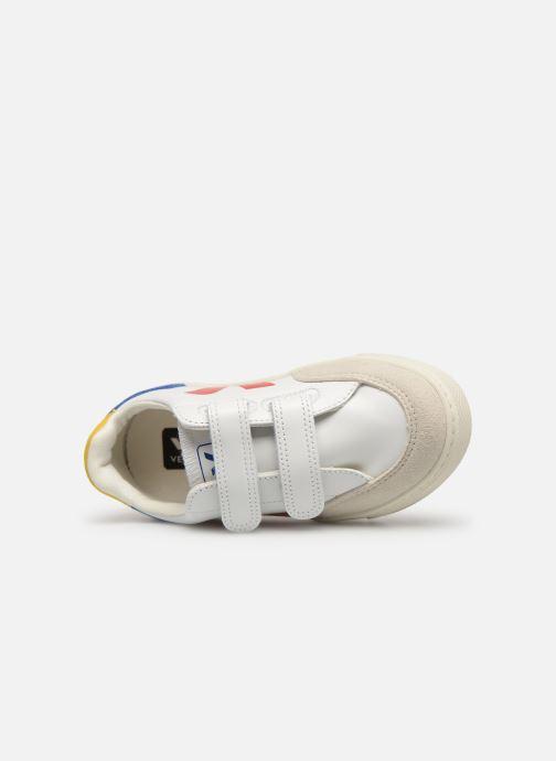 Sneakers Veja V-12 SMALL LEATHER Multi bild från vänster sidan