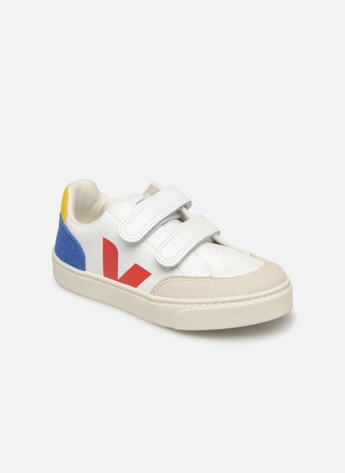 Trainers Veja V-12 SMALL LEATHER Multicolor detailed view/ Pair view