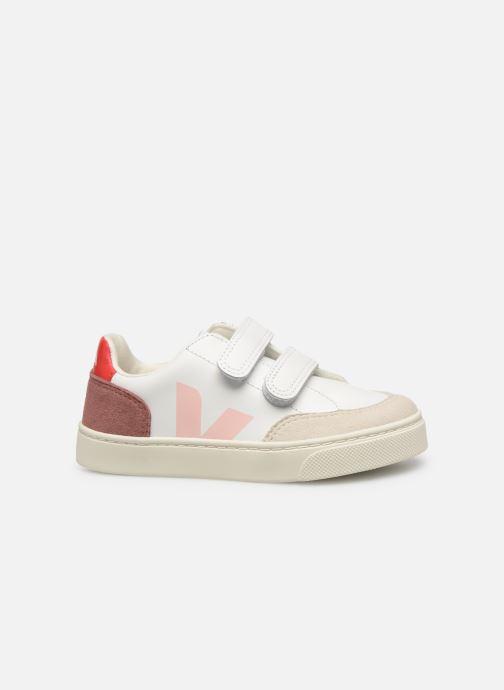 Sneakers Veja V-12 SMALL LEATHER Wit achterkant