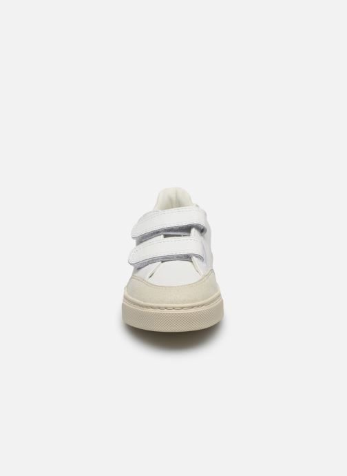 Sneakers Veja V-12 SMALL LEATHER Wit model