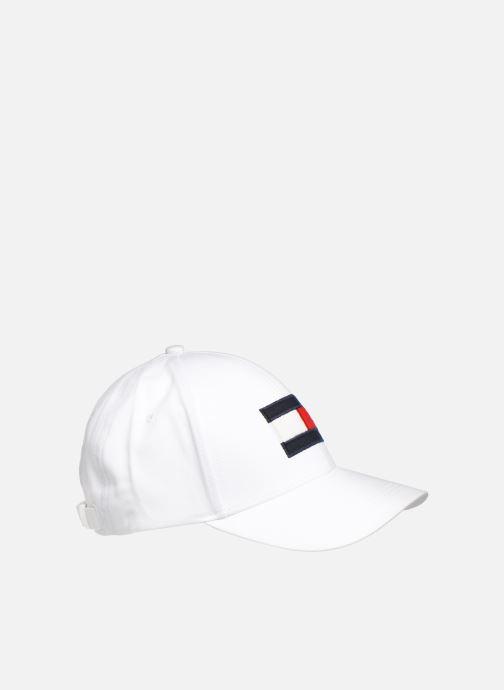 Casquettes Tommy Hilfiger BIG FLAG CAP Blanc vue face