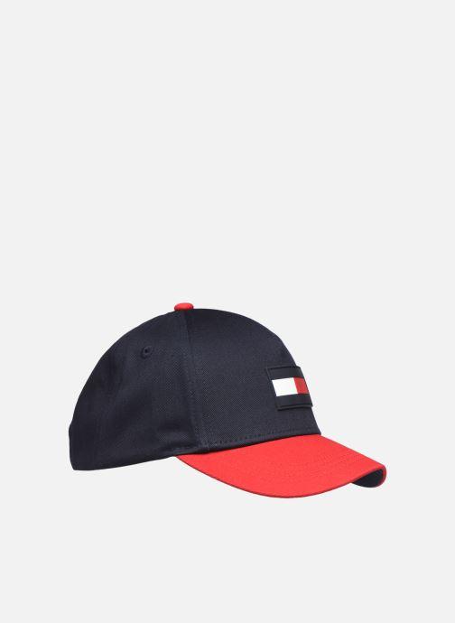 Gorra Tommy Hilfiger BIG FLAG CAP Negro vista del modelo