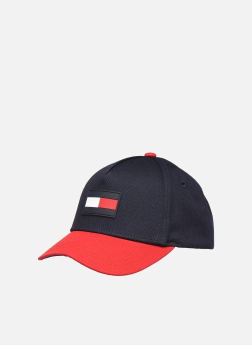 Gorra Tommy Hilfiger BIG FLAG CAP Negro vista de detalle / par