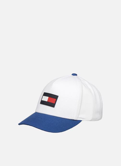Casquettes Tommy Hilfiger BIG FLAG CAP Blanc vue détail/paire