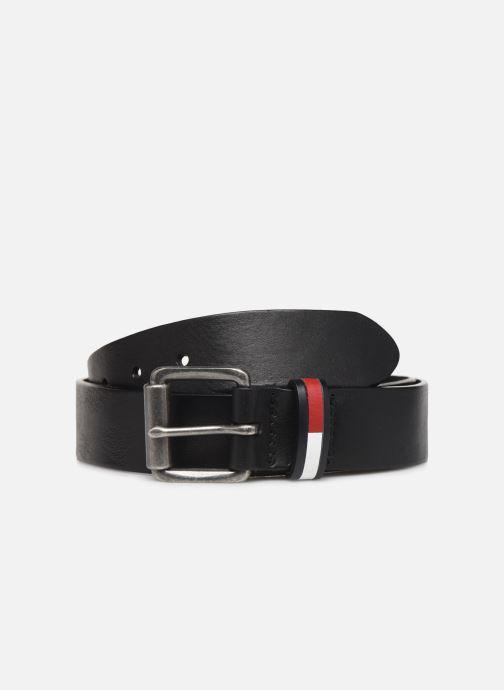 Cinturones Tommy Hilfiger TJM FLAG INLAY BELT 3.5 Negro vista de detalle / par