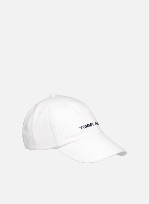 Casquettes Tommy Hilfiger TJU SPORT CAP Blanc vue face