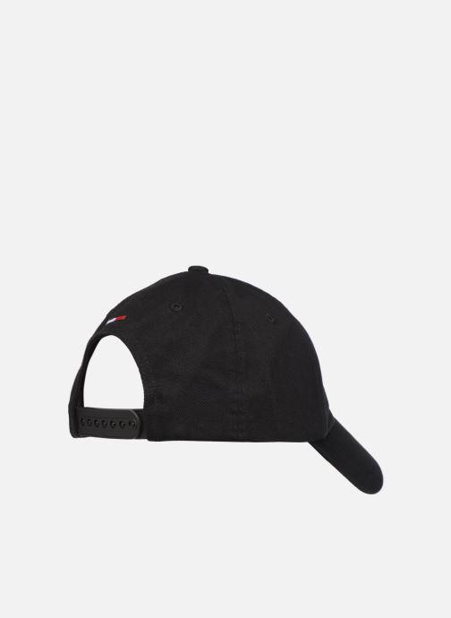 Gorra Tommy Hilfiger TJU SPORT CAP Negro vista del modelo