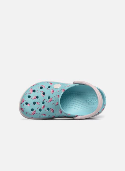 Sandales et nu-pieds Crocs Crocband MultiGraphic Clog K Bleu vue gauche