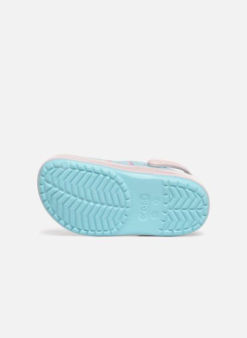 Sandali e scarpe aperte Crocs Crocband MultiGraphic Clog K Azzurro immagine dall'alto