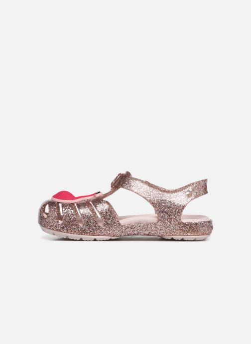 Sandales et nu-pieds Crocs Crocs Isabella Charm Sandal K Or et bronze vue face