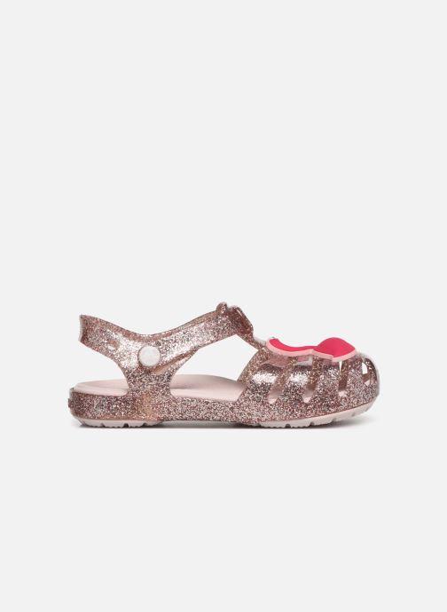 Sandalias Crocs Crocs Isabella Charm Sandal K Oro y bronce vistra trasera
