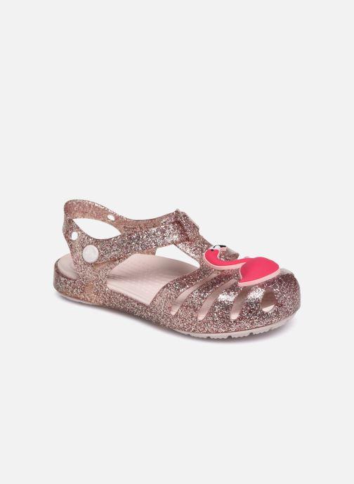 Sandaler Crocs Crocs Isabella Charm Sandal K Bronze och Guld detaljerad bild på paret