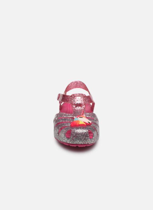 Sandales et nu-pieds Crocs Crocs Isabella Charm Sandal K Rose vue portées chaussures
