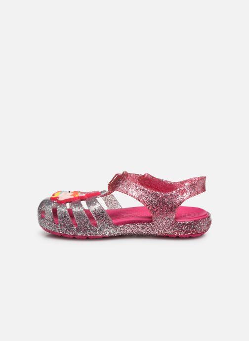 Sandales et nu-pieds Crocs Crocs Isabella Charm Sandal K Rose vue face