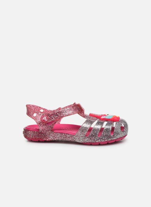 Sandales et nu-pieds Crocs Crocs Isabella Charm Sandal K Rose vue derrière