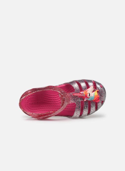 Sandales et nu-pieds Crocs Crocs Isabella Charm Sandal K Rose vue gauche