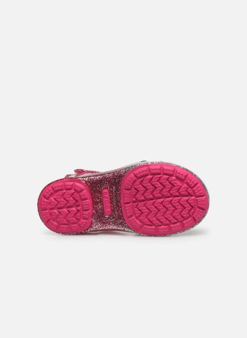 Sandales et nu-pieds Crocs Crocs Isabella Charm Sandal K Rose vue haut