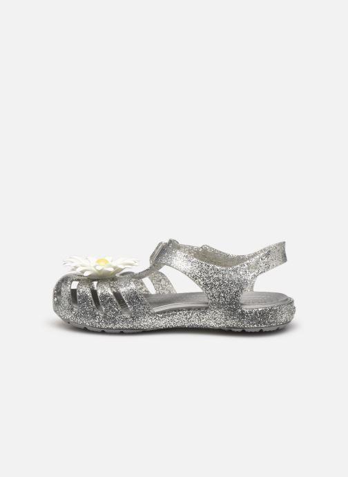 Sandales et nu-pieds Crocs Crocs Isabella Charm Sandal K Argent vue face