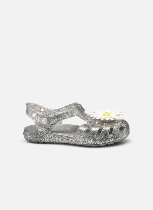 Sandales et nu-pieds Crocs Crocs Isabella Charm Sandal K Argent vue derrière