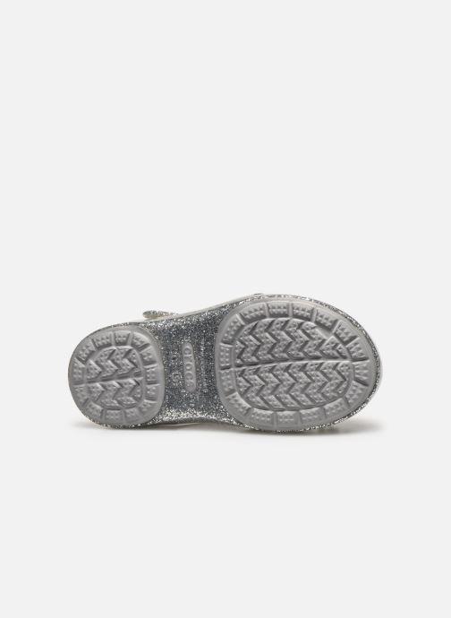 Sandales et nu-pieds Crocs Crocs Isabella Charm Sandal K Argent vue haut