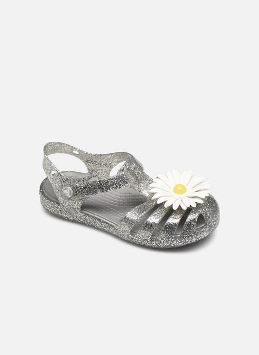 Sandales et nu-pieds Crocs Crocs Isabella Charm Sandal K Argent vue détail/paire