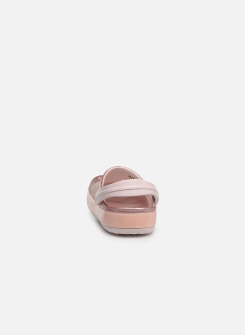Sandales et nu-pieds Crocs Crocband Ice Pop Clog K Rose vue droite