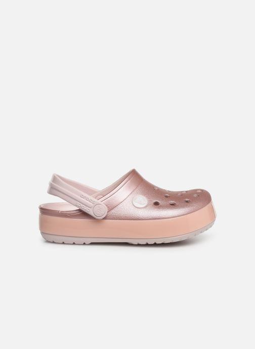 Sandales et nu-pieds Crocs Crocband Ice Pop Clog K Rose vue derrière