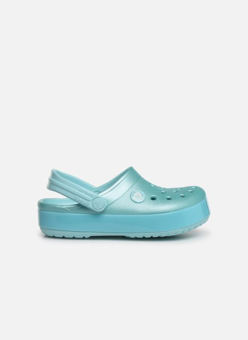 Sandalias Crocs Crocband Ice Pop Clog K Azul vistra trasera