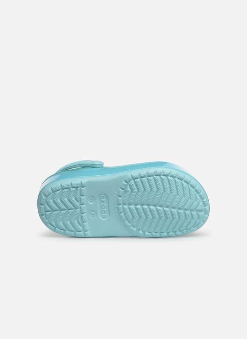 Sandales et nu-pieds Crocs Crocband Ice Pop Clog K Bleu vue haut
