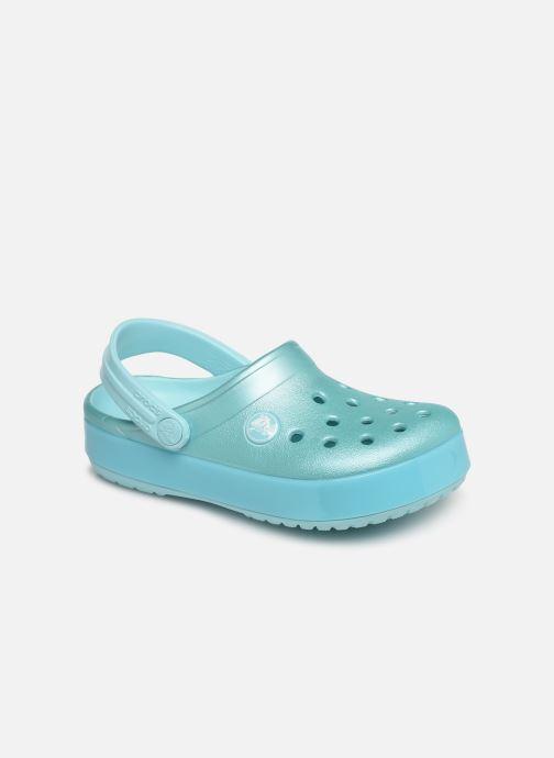 Sandales et nu-pieds Crocs Crocband Ice Pop Clog K Bleu vue détail/paire