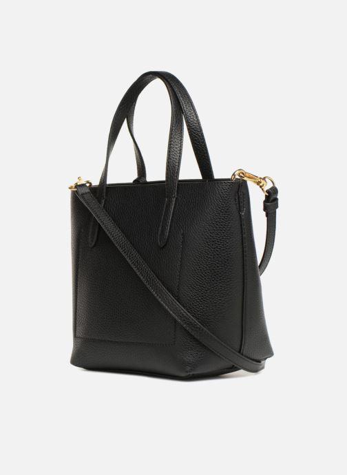 Handtaschen Lauren Ralph Lauren MERRIMACK MINI CROSS REVERS schwarz ansicht von rechts