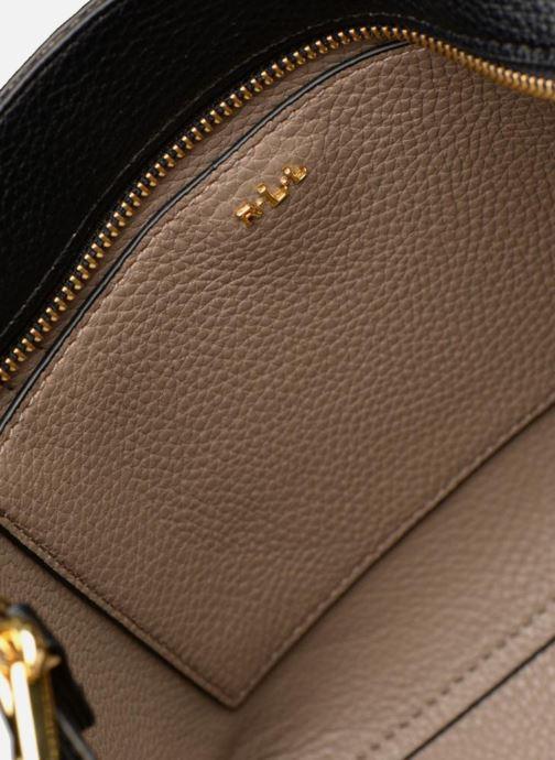 Handtaschen Lauren Ralph Lauren MERRIMACK MINI CROSS REVERS schwarz ansicht von hinten