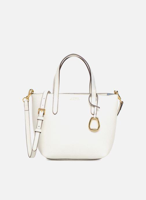 Sacs à main Lauren Ralph Lauren MERRIMACK MINI CROSS REVERS Blanc vue détail/paire