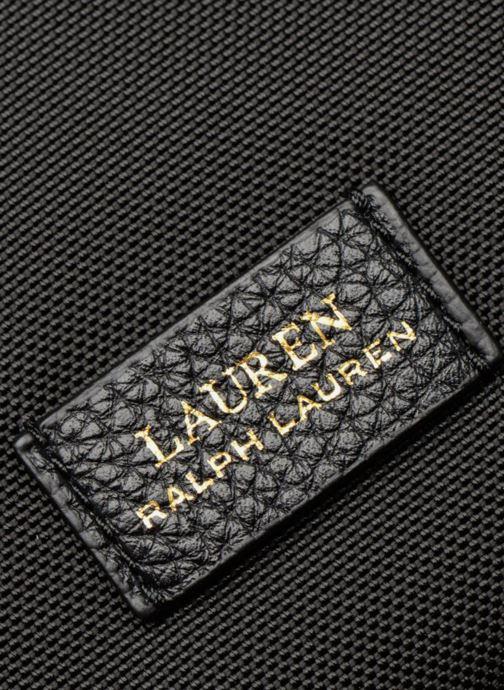 Sacs à main Lauren Ralph Lauren CHADWICK HOBO M Noir vue gauche