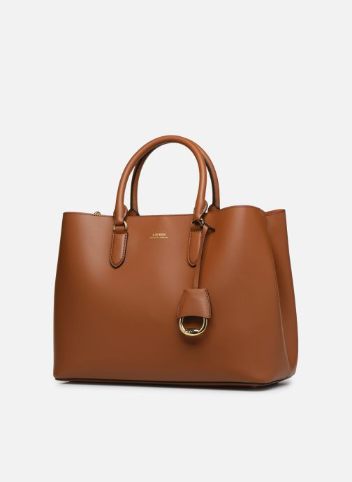 Handbags Lauren Ralph Lauren DRYDEN MARCY L Brown model view